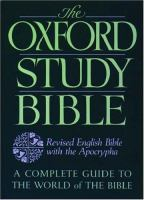 The Oxford Study Bible