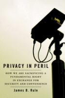Privacy In Peril