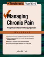 Managing Chronic Pain