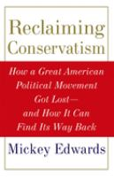 Reclaiming Conservatism