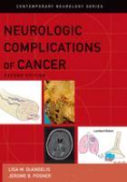 Neurologic Complications of Cancer