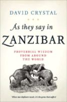 As They Say in Zanzibar