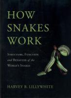 How Snakes Work
