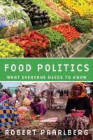 Food Politics