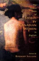 The Oxford Book of Stories by Canadian Women in English