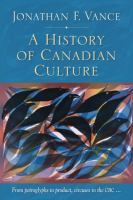 A History of Canadian Culture