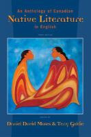 Anthology of Canadian Native Literature in English