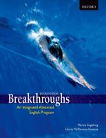 Breakthroughs