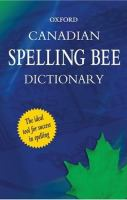 Canadian Spelling Bee Dictionary