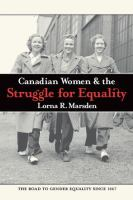 Canadian Women & the Struggle for Equality
