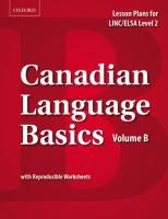 Canadian Language Basics