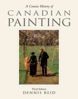 A Concise History of Canadian Painting