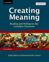 Creating Meaning