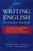 Writing English