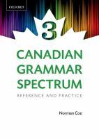 Canadian Grammar Spectrum