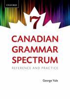 Canadian Grammar Spectrum 7