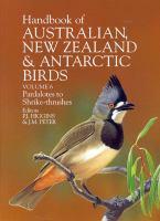 Handbook Of Australian, New Zealand And Antarctic Birds