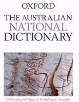 The Australian National Dictionary