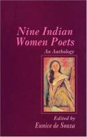 Nine Indian Women Poets