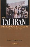The Taliban Phenomenon