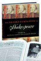 Oxford Companion to Shakespeare