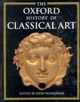 The Oxford History of Classical Art