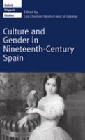 Culture and Gender in Nineteenth-century Spain