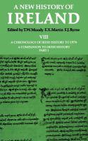A Chronology of Irish History to 1976