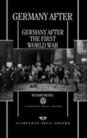 Germany After the First World War