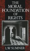 The Moral Foundation of Rights