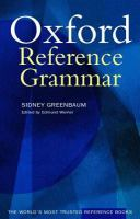 Oxford Reference Grammar