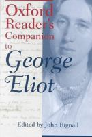 Oxford Reader's Companion to George Eliot