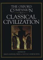 The Oxford Companion to Classical Civilization