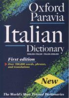 Oxford Paravia il dizionario