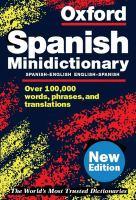 The Oxford Spanish Minidictionary