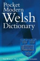The Pocket Modern Welsh Dictionary
