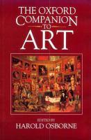 Oxford Companion To Art