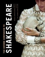 The Oxford Companion to Shakespeare. Rev., Expanded Ed