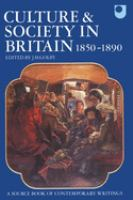 Culture and Society in Britain, 1850-1890
