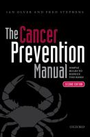 The Cancer Prevention Manual