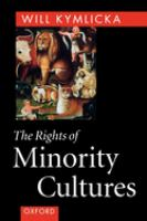 The Rights of Minority Cultures