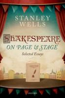 Shakespeare on Page & Stage