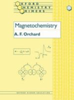 Magnetochemistry