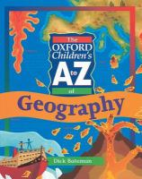 The Oxford Children's A to Z of Geography