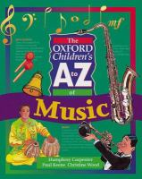 The Oxford Children's A to Z of Music