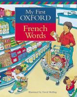 My First Oxford French Words