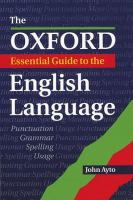 The Oxford Essential Guide To The English Language
