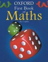 First Book Of Maths
