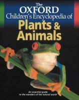 The Oxford Children's Encyclopedia of Plants & Animals