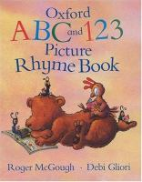 Oxford ABC and 123 Picture Rhyme Book